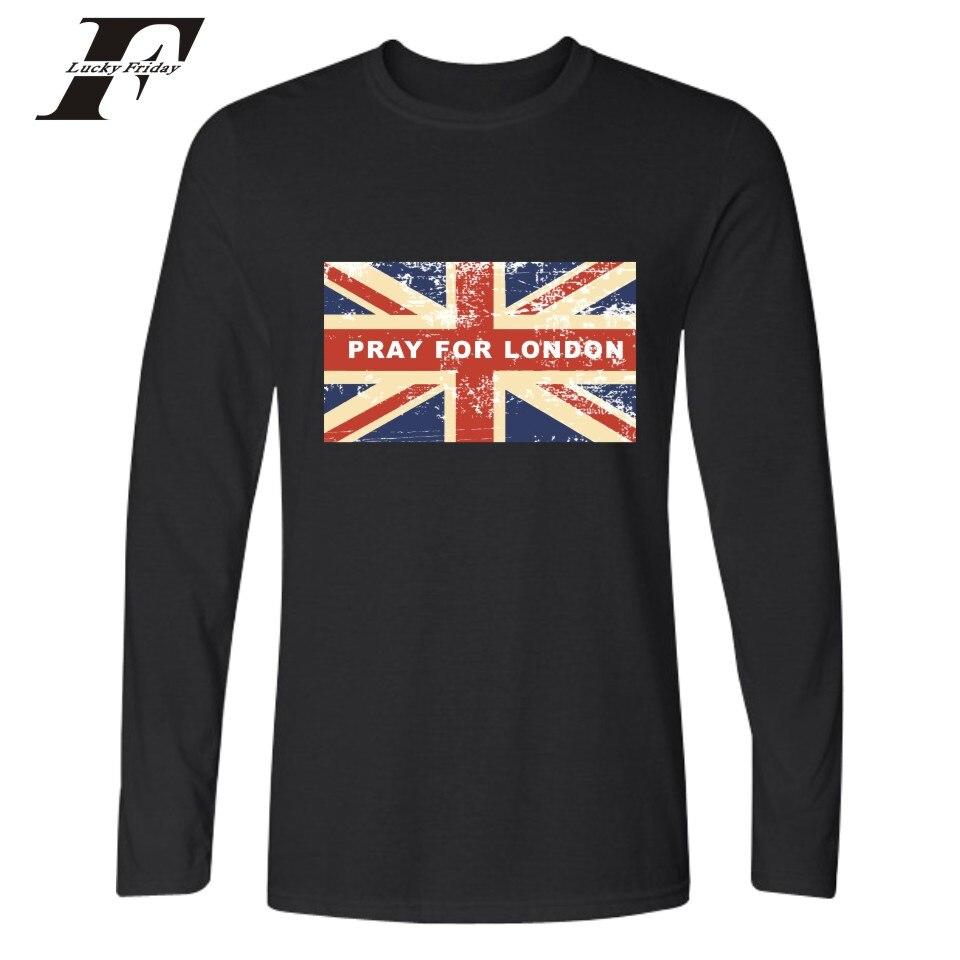 Shirt design london - London Flag Design Long Sleeve Tee Shirt Men Hip Hop Black White O Neck Printed T Shirt Men Fashion Funny T Shirt Plus Size Xxs