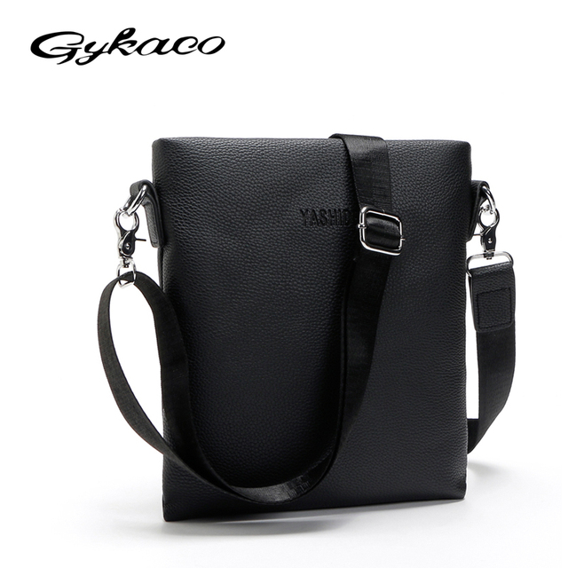 7da111e9b64e Новинка 2018 г. Лидер продаж Модные мужские сумки мужской известный бренд  дизайн кожаная сумка высокого