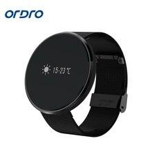 Ordro us1 smart watch presión arterial ritmo cardíaco pulsera pulsómetro impermeable rastreador de ejercicios de oxígeno en la sangre