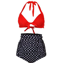 Hooray Push up High Waist Swimsuit S-3XL big size Women Bathing Suit Padded Bikini set Beachwear Plus Size Swimwear
