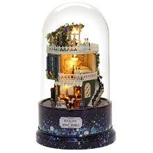 Cutebee diy Домик miniatura светодиодный подсветкой Музыка cubierta