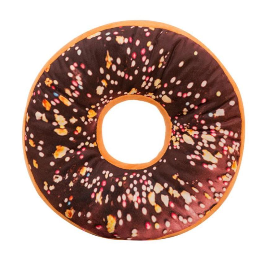 Симпатичные мягкие плюшевые Подушки детские мягкие сиденья сладкий Пончик foods Подушки  ...