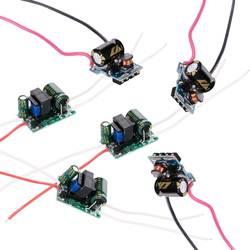 3 Вт 4 Вт 5 Вт 7 Вт светодио дный драйвер Вход AC90-265V Питание встроенный постоянного тока 300mA Трансформаторы освещения Выход 3-12 В 12-26 В
