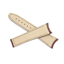 Genuine Leather Watch Band 23mm for Frederique Constant Runabout FC-330 RM6B6 43mm Folding buckle Strap Wrist Loop Belt Bracelet