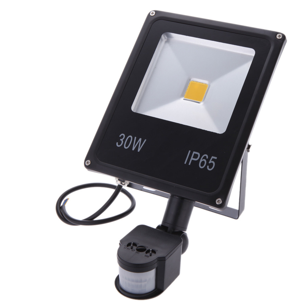 Led fir flood lights motion sensor led spot light outdoor for Focos led exterior 50w