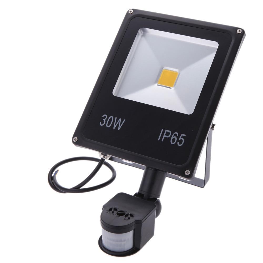 LED FIR Flood Lights Motion Sensor Led Spot Light Outdoor Sensor 10W 20W 30W