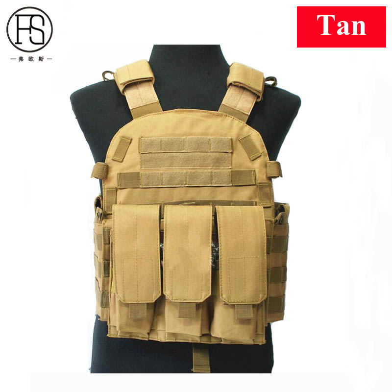 Hot!Tactical Vests Army Military Equipment Tactical Airsoft Vest Outdoor Hunting Vest Patinball Shooting Combat Protection Vest