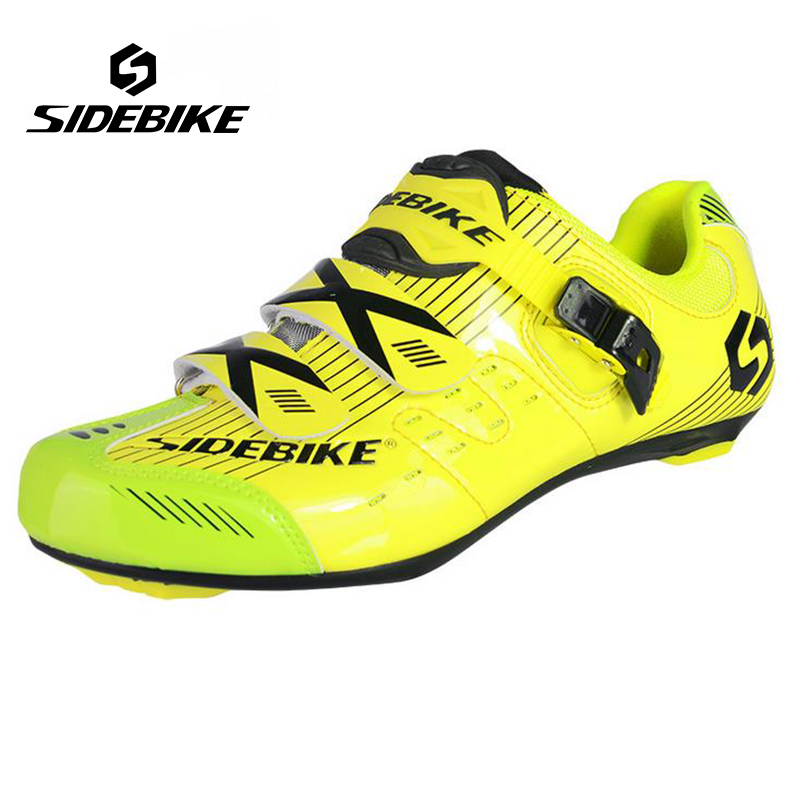 Sidebike Breathable Road Bike Shoes Men Outdoor Professional Bicycle Shoes Cycling Shoes zapatillas ciclismo bicicleta sidebike mens road cycling shoes breathable road bicycle bike shoes black green 4 color self locking zapatillas ciclismo 2016