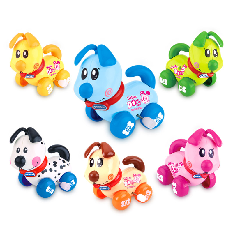 Cute Cartoon Animal Wind Up Toys Clockwork Classic Toy Newborn Baby Toy NSV775