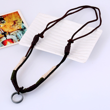 Hand Made Genuine Leather Necklace