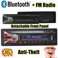В Тире Автомобиля Радио Стерео bluetooth Seperable передней панели MP3 Плеер FM USB SD AUX Вход Высокое Качество Съемный передняя панель
