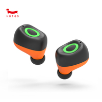 HOTGO Q17 TWS Wireless Earphone Bluetooth Mini Stereo Headset Sports HIFI Earpieces Earphones For IPhone Samsung