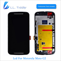 LL TRADER Black Replacment LCD Touch For Motorola Display MOTO G2 XT1063 XT1064 XT1068 LCD Screen Digitizer Assembly+Frame+Tools