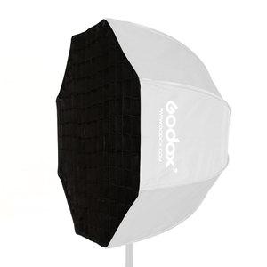"Image 5 - Godox Reflector portátil para Flash Speedlight, rejilla de nido de abeja, foto de paraguas, 120cm, 47"""