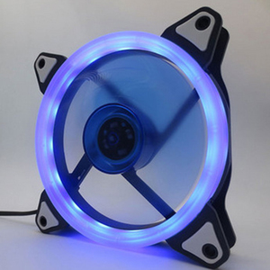 Image 5 - Colorful 120mm fan Computer LED Fan Water Cooler Cooler Fan Case Glare Red Blue Green White Cooler Fans Cooling RGB Case Fan CPU