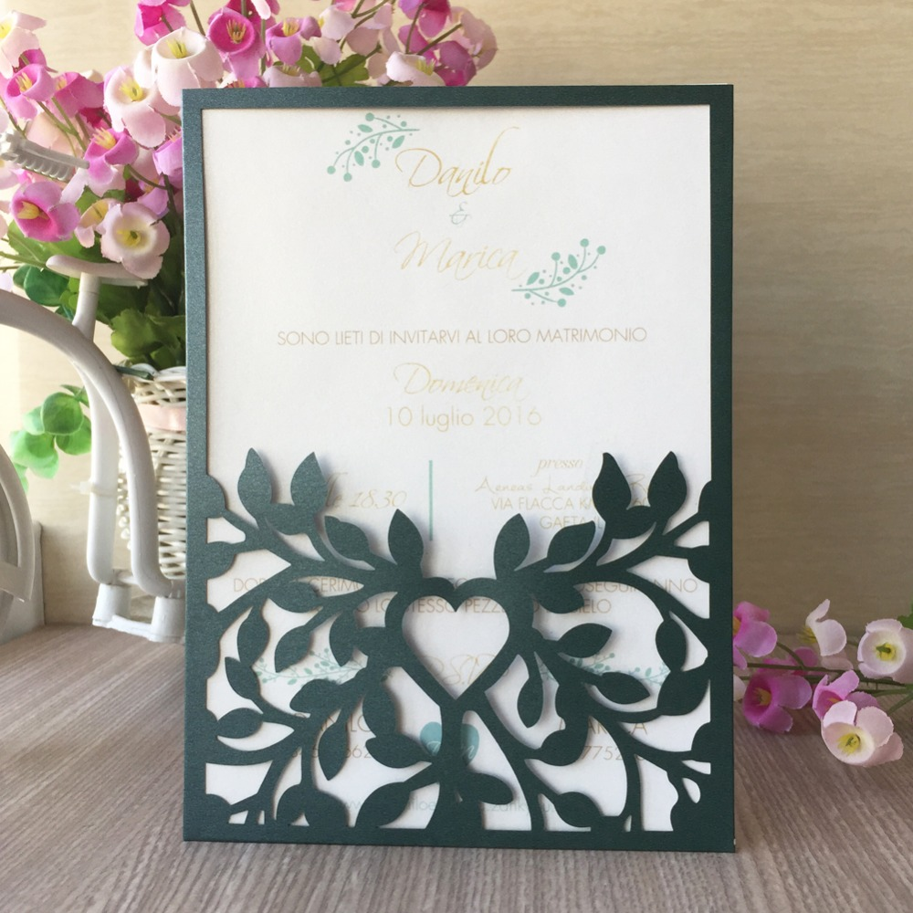 50pcs/lot Hollow Laser Cut Countryside Style Design Wedding & Engagement  Invitation Card Confessions Card Best Wishes Card|Cards & Invitations| -  AliExpress