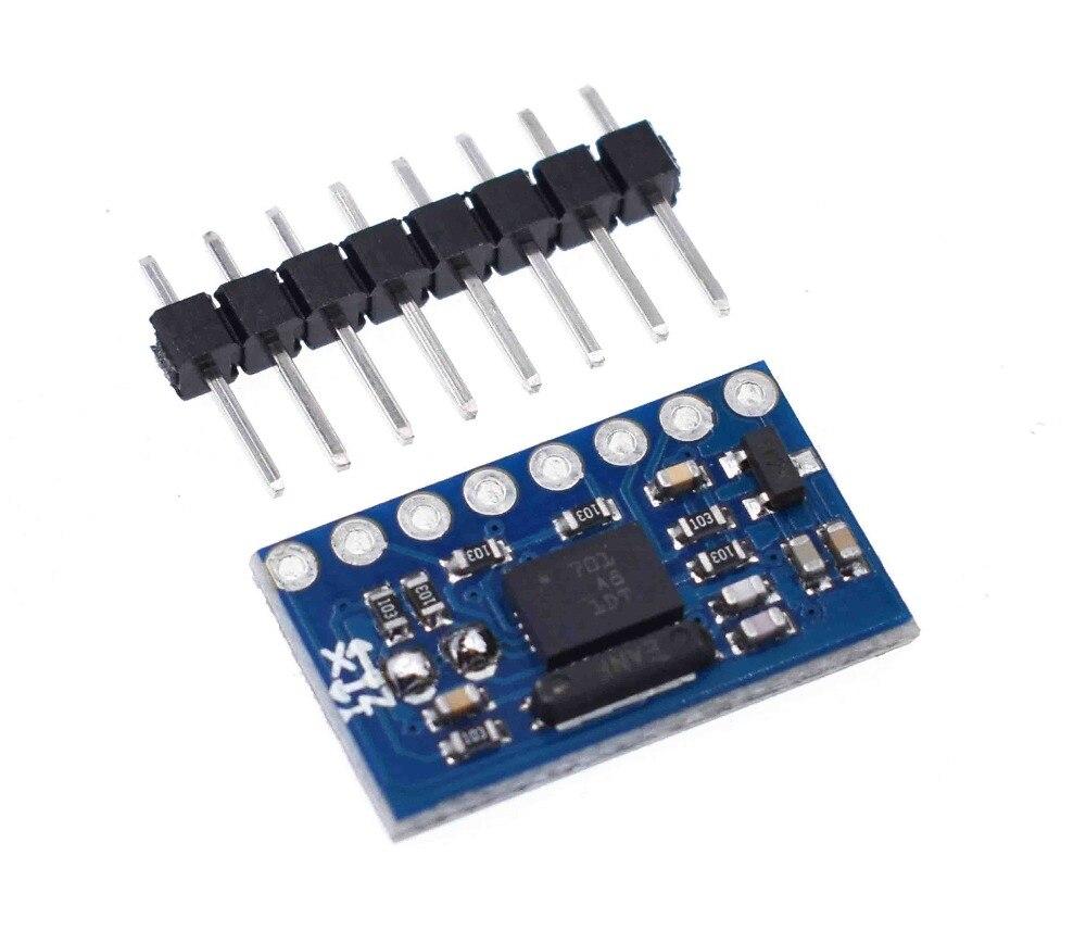 Regulador de Baixa Gy bno055 9dof 9 eixo Bno055 Absoluta Orientação Ângulo Sensor Giroscópio Breakout Board Módulo Cii Série Tensão