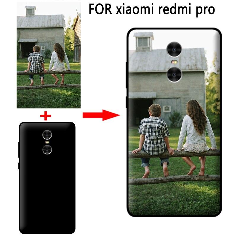 Mosirui персонализированные Индивидуальные DIY чехол для xiaomi redmi pro HD УФ-печати ТПУ Мягкий силиконовый чехол