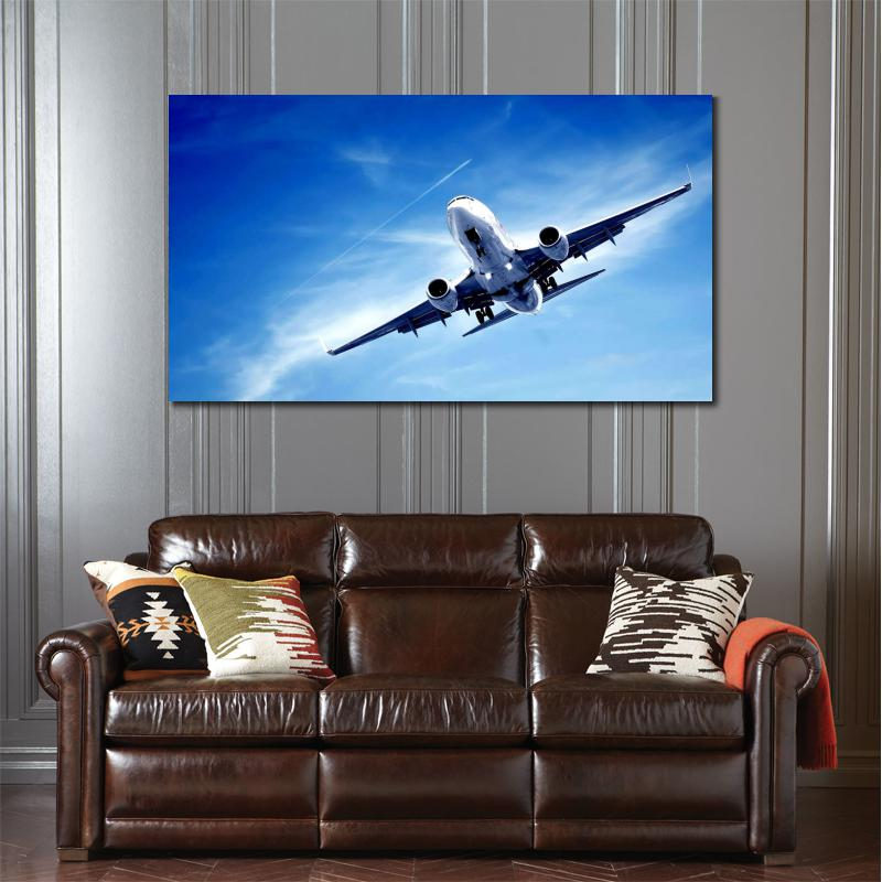 HD Canvas Prints Modern Aeroplane Unframed Military Painting Home  Decoration Living Room Bedroom Decor Wall Fine Art In Painting U0026  Calligraphy From Home ...