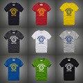 Мужские футболки мода 2016 хлопок camiseta размер XXS-3XL