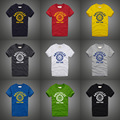 Mens t shirts fashion 2016 cotton camiseta size XXS-3XL