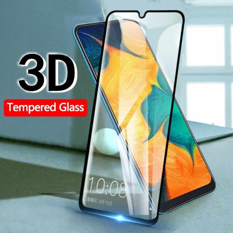 3 قطعة/الوحدة غطاء كامل المقسى زجاج عليه طبقة غشاء رقيقة لسامسونج A70 A50 A30 A10 A20 A40 A60 A70 A80 A90 M40 M30 m20 M10 واقي للشاشة HD