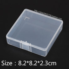 Component & Accessories Boxes transparent plastic Boxes product storage & packaging & Small Parts square Box Free Shipping(China)