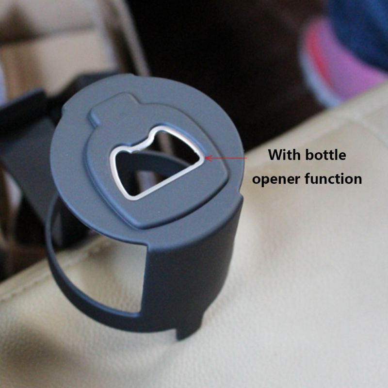 1pc Black Auto Car Vehicle Cup Can Drink Bottle Holders Container Hook With Bottle Opener For Truck Interior Window Dash Mount in Stowing Tidying from Automobiles Motorcycles