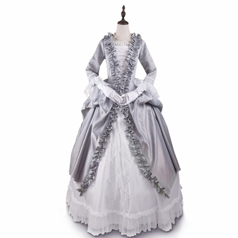Fancy Dressing Gowns: Baroness Prom Dress Gothic Victorian Dress Floor Length