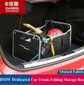 Saco De Caixa De Armazenamento Mala Do Carro Universal Dobrável Para BMW X1 X3 X4 X5 X6 E36 E39 E46 E30 E60 E92 E90 F30 F35 F16 F15 Carro styling