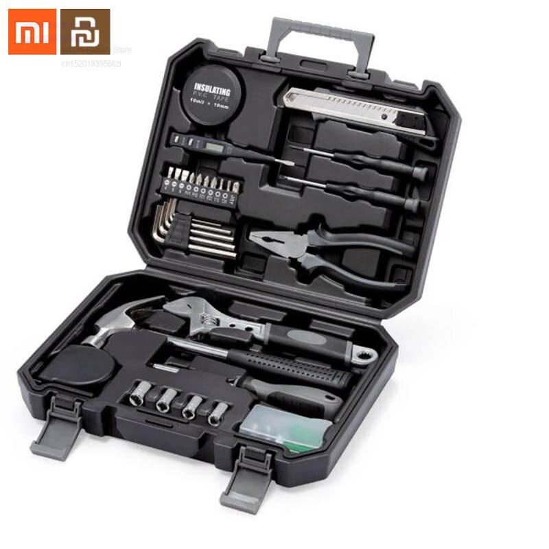 Original Xiaomi Mijia Meter Toolbox For Toolbox Internal Parts Storage Box Toolbox Repair Tool Alloy Steel Forged Smart Home