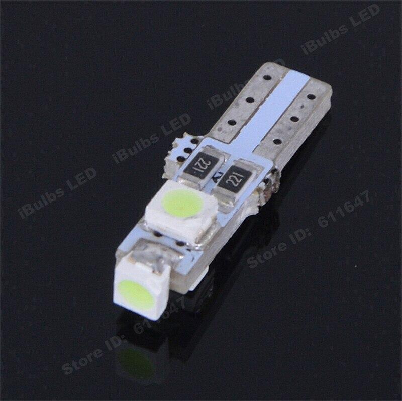 10Pcs Wholesale T5 3 LED 1210 SMD Car Auto Interior Dashboard Gauge Lights Instrument Warning Indicator Signal Bulbs W1.2W