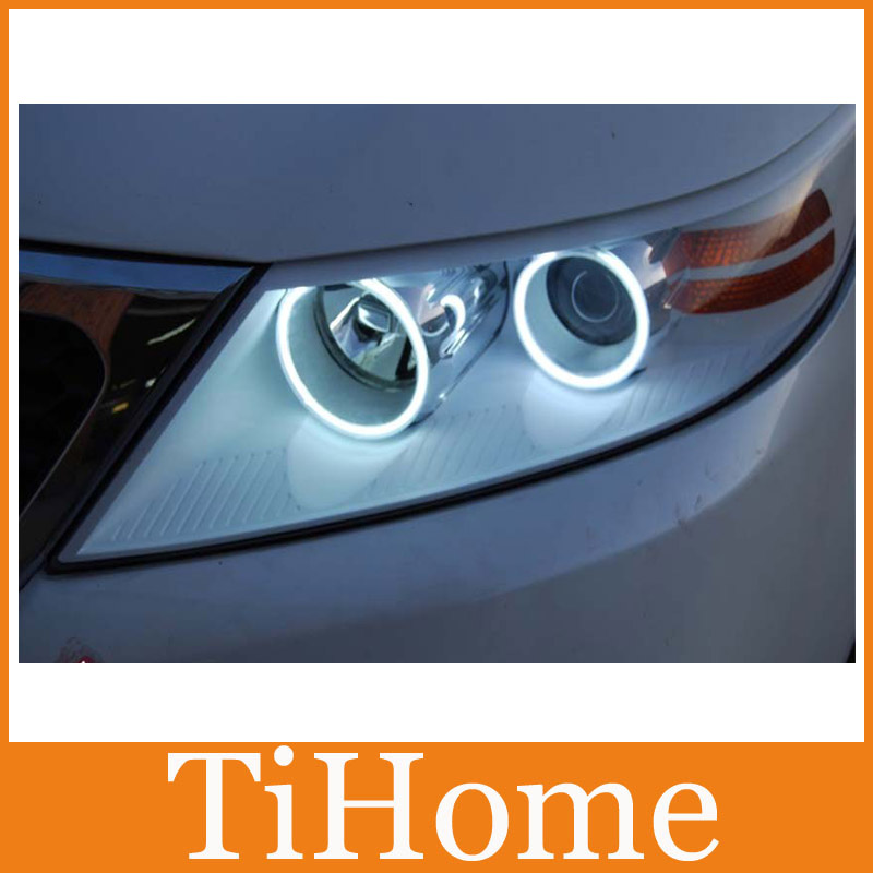 KIA SPECTRA WING White CCFL ANGEL EYES ,NON PROJECTOR HALO RING FOR KIA Sorento / Carnivl 06 Free Shipping To Russia