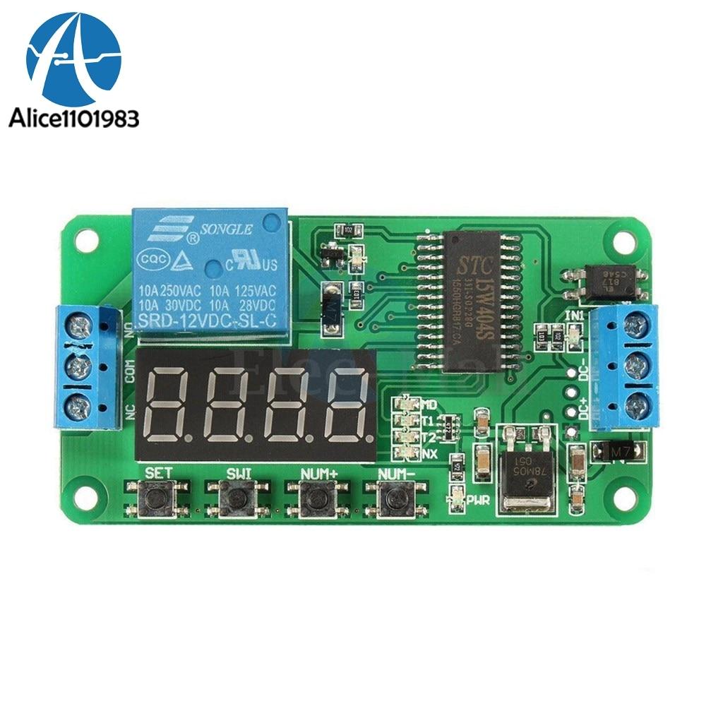 9-24V 8A Switch Module Isolation Self-locking Trigger Switch Board Modue DIY