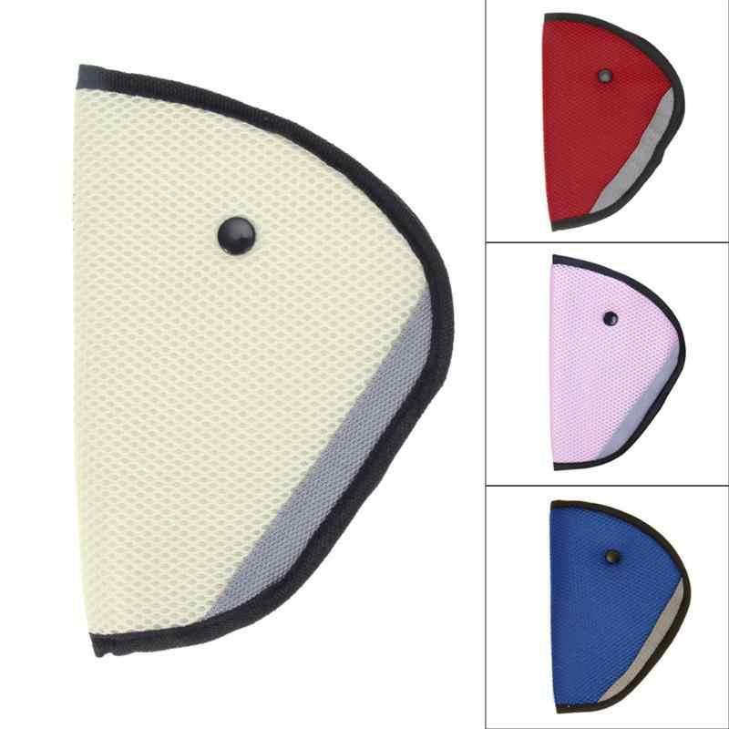 Cubierta del cinturón de seguridad del asiento del coche resistente ajustable triángulo Auto seguridad hombro arnés correa cubierta protección del cuello del niño posicionador