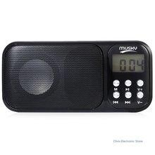 Mesuvida HJ-92 Портативный Динамик mini-usb fm Радио Динамик музыкальный плеер Высокое качество с TF слот для карты AUX аудио Вход