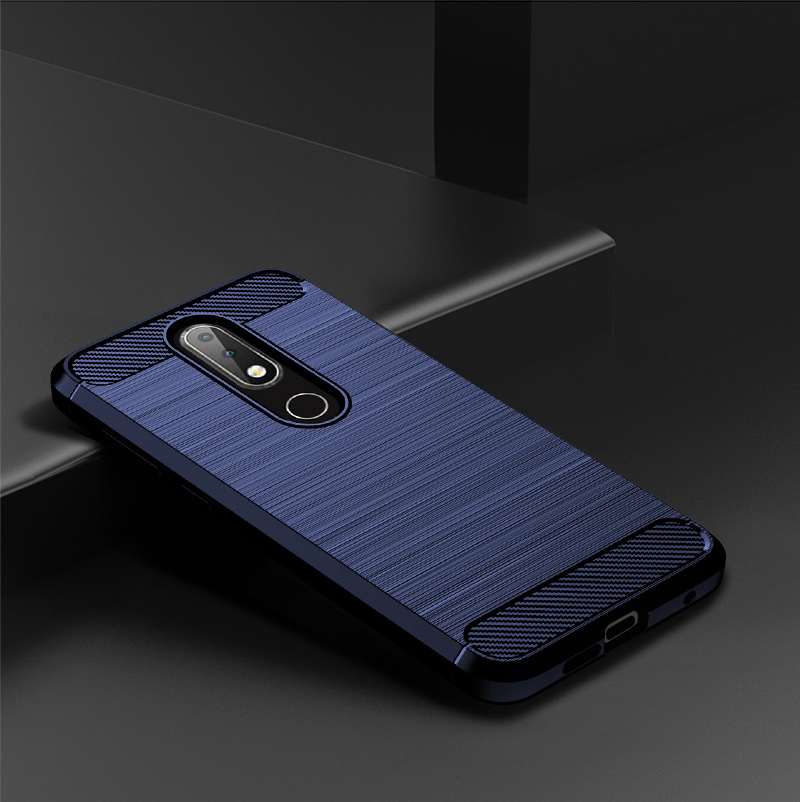 Image 5 - Soft TPU Brushed Case for Nokia 6.2 4.2 3.2 2.2 1Plus Carbon Fiber Cover for Nokia X71 X7 X6 X5 X3 8.1 7.1 6.4 5.1 3.1 Plus Case-in Fitted Cases from Cellphones & Telecommunications