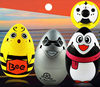 2015 New Cheerson SH 6057 Flying Egg 2 4GH 4 CH 3D RC Stunt With 6