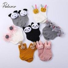 В году, новые брендовые носки для маленьких мальчиков, 2 пары хлопок, От 0 до 5 лет, милые носки декоративные для новорожденных девочек с объемными животными и цветами
