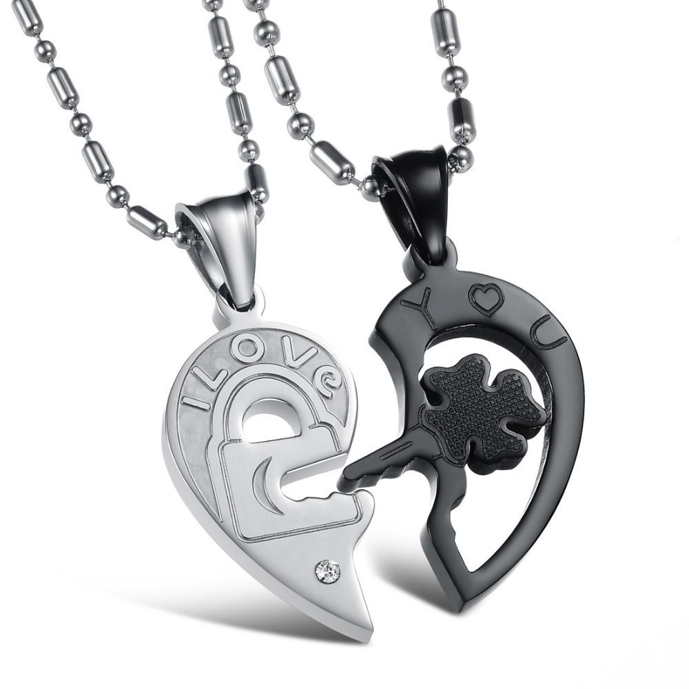 Popular Couple Puzzle Necklace-Buy Cheap Couple Puzzle Necklace ...