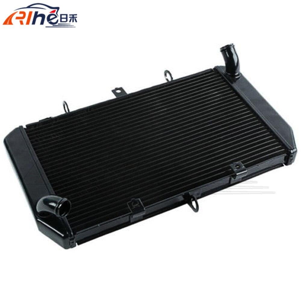 new style motorcycle radiator cooler aluminum motorbike radiator black For Kawasaki Z1000 Z 1000 2010 2011 2012 2013