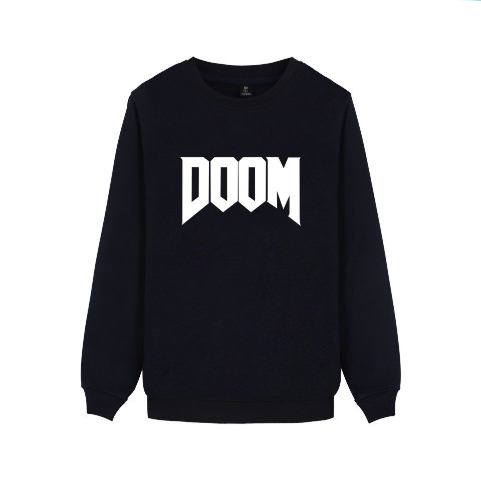 First-person Shooter Game DOOM Hoodies Men Women Casual Clothing Logo DOOM DILLA Print Capless Sweatshirts image