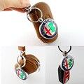 Высокое Качество Металла Украшения Для Alfa Romeo 159 3D Автомобиль alfa romeo брелок мужская подвеска лучший подарок новый серебристый