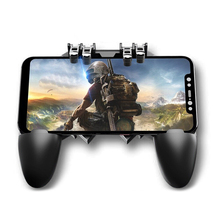 Gamepad L1 R1 Trigger AK66 Six Finger All-in-One Mobile Game Controller Free Fire Key Button Joystick for PUBG sensitive without