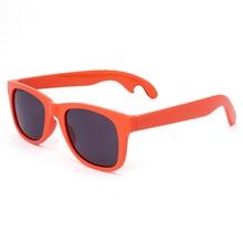 Venta caliente Un Lado Abrebotellas Pedestrianism Hombres Mujeres Diseñador de la Marca de Gafas de Sol de Moda Gafas de Sol UV400 Gafas De Sol Hombre