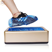Automatic Shoe Covers Machine Home Office One-time Film Machine Foot Set New Shoes все цены