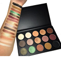 15 Colors Eyeshadow Pallete Naked Makeup Shadow Glitter Shimmer Shade And Light Contour Palette Matte Professional Eye Shadow