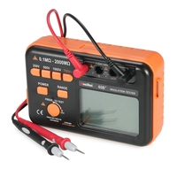 New Style RuoShui 60B+ 1000V High Percision Megger Insulation Resistance Meter Tester Digital Insulation Tester