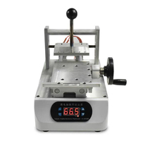 Factory price glue remover  LY 903 OCA hand wheel type high quality glue Remover Machine glue stainless steel pressure tank with factory price