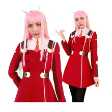 цена на Anime DARLING in the FRANXX ZERO TWO 002 Outfit Dress Cosplay Costume